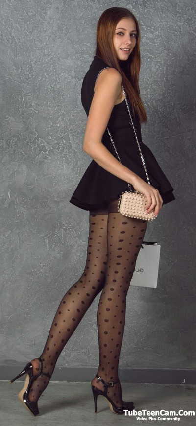 Teen Stocking Heels