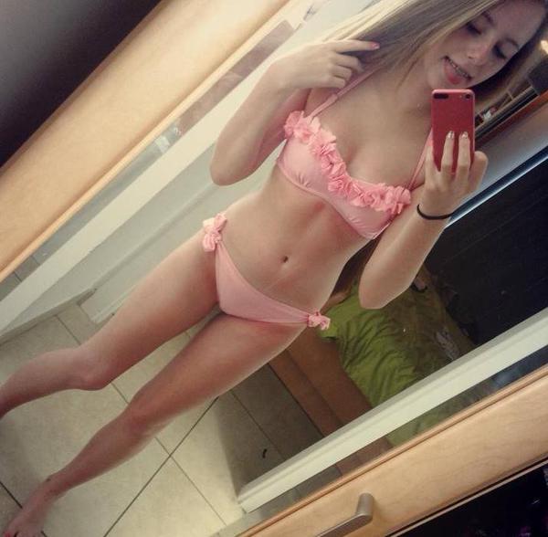 Blonde Young Swedish Teen