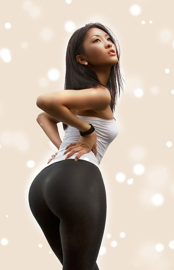 with women ass asians sexy Curvy