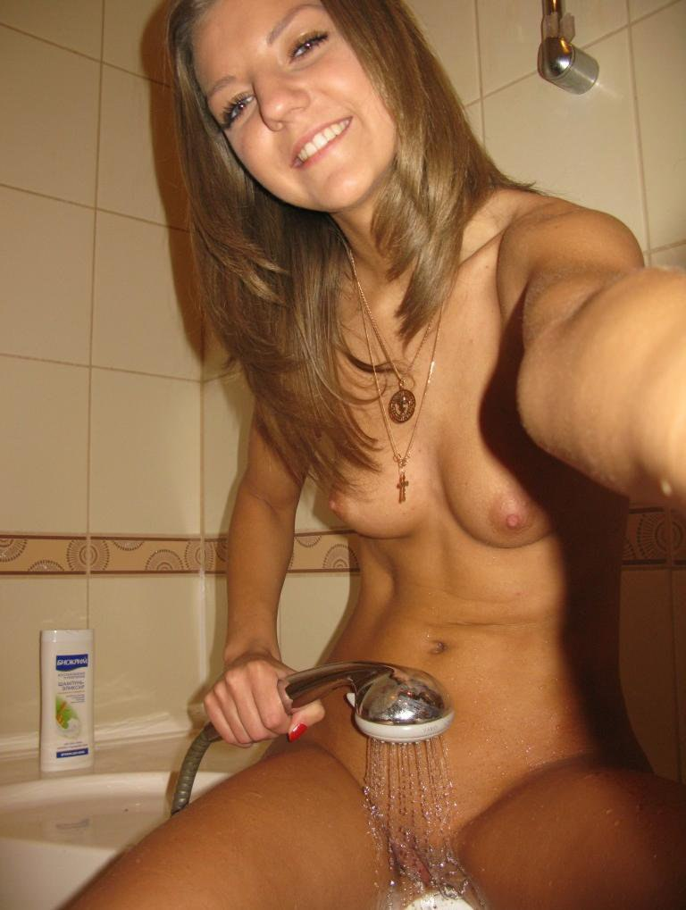 Think, Naked teenage girl nude in shower your