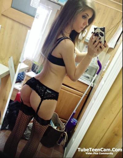 Body teen selfie Tight girl