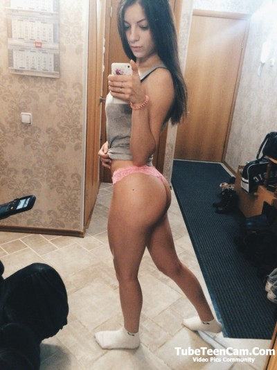 Hot ass chick selfie
