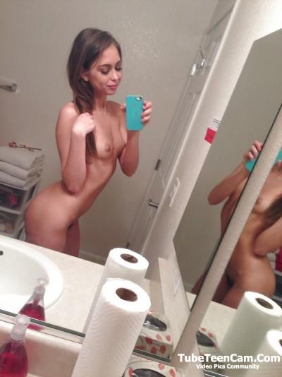 Nude teen selfie amateur